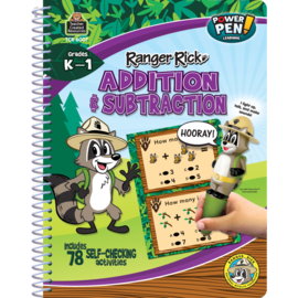 Ranger Rick Power Pen Learninig Book-Addition & Subtraction