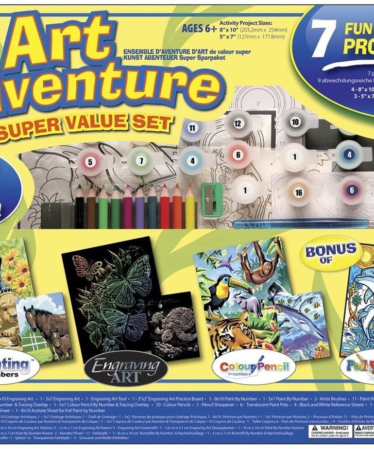 Art Adventure-Super Value Set 1