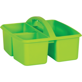Lime Plastic Storage Caddy
