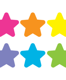 Spot On Bright Stars Carpet Markers 7""