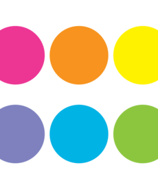 Spot On Bright Circles Carpet Markers 7""