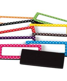 Polka Dot Magnetic Labels