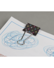 Chalkboard Brights Medium BInder Clips