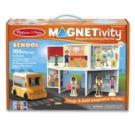 Melissa & Doug Magnetivity-School