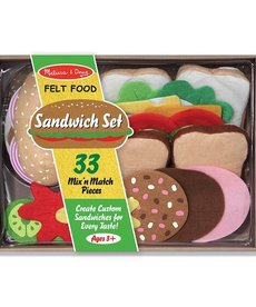Melissa & Doug Sandwich Felt Food Set