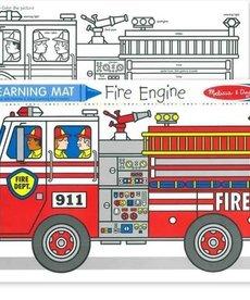 Learning Mat-Fire Truck