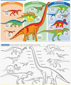 Learning Mat- Dinosaurs