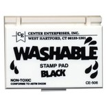 Washable stamp pad-black