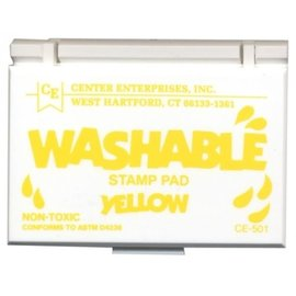 Washable stamp pad-Yellow