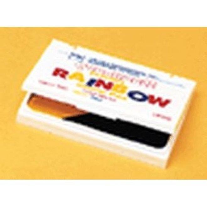 Washable stamp pad- primary rainbow