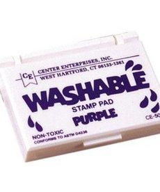 Washable stamp pad-purple