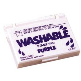 Washable stamp pad-purple