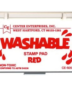 Washable stamp pad-red