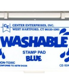 Washable stamp pad-blue