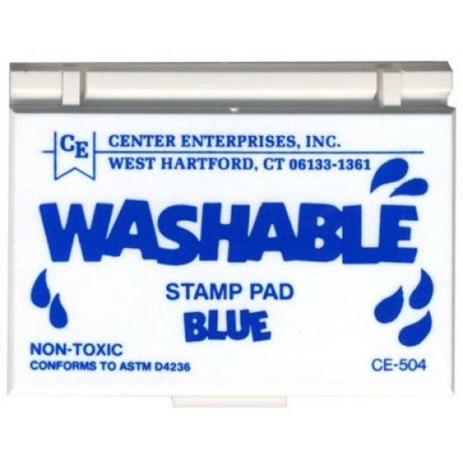 Washable stamp pad-blue