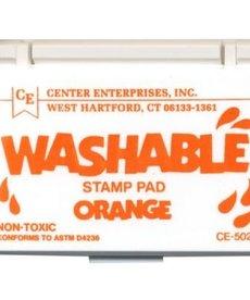 Washable stamp pad- orange