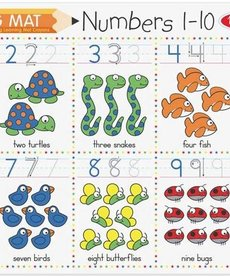 Learning Mat- Numbers 1-10