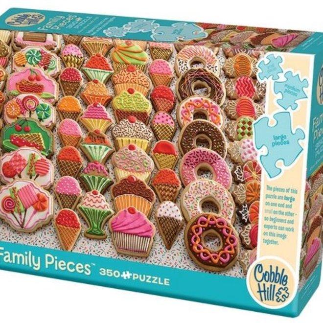 Sweet Treats Family Puzzle 350pc