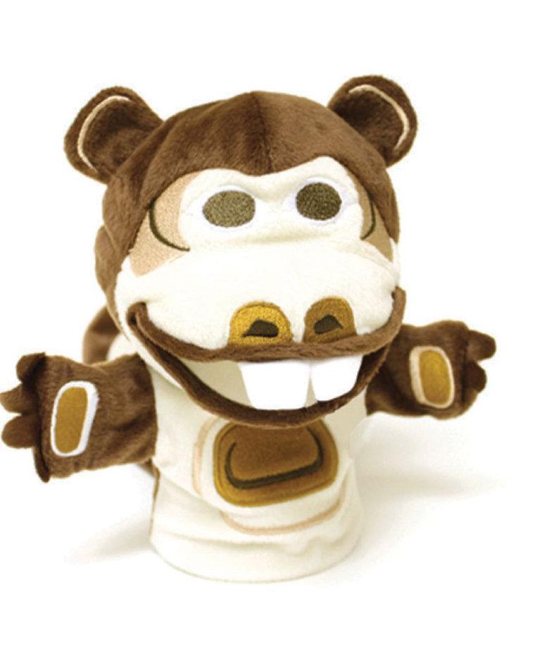 Bizzy the Beaver Puppet