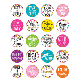 Confetti Words to Inspire Planners Stickers