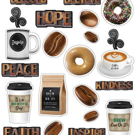 Industrial Cafe Morning Motivators Mini Bulletin Board