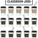 Industrial Cafe Classroom Jobs Mini Bulletin Board