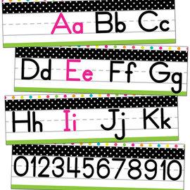 Simply Stylish Alphabet Line