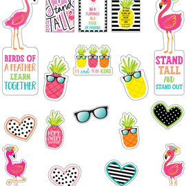 Simply Stylish Motivational Mini Bulletin Board