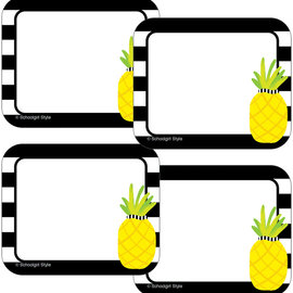 Simply Stylish Pineapple Name Tags