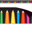 Colored Pencils Magnetic Border