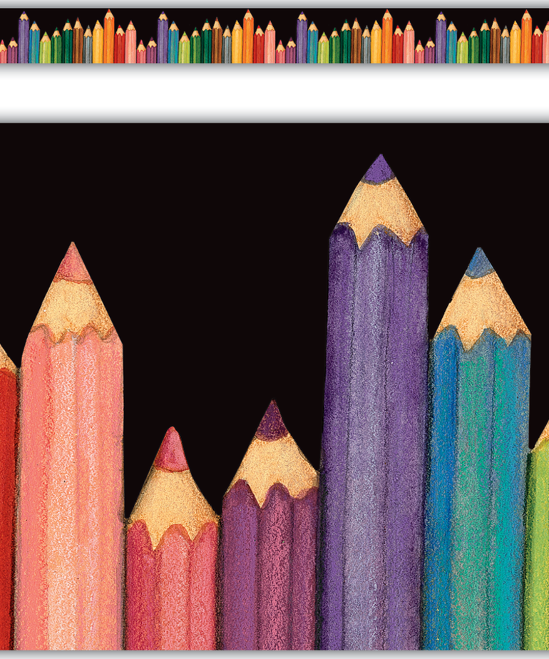 Colored Pencils Straight Border/Susan Wingert