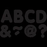 "Black 2"" Magnetic Letters"