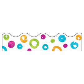 Color Harmony Swirl Dots Trimmer