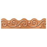 I Love Metal Copper Scrolls Trimmer