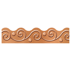 I Love Metal Copper Scrolls Trimmer