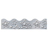 I Love Metal Silver Stars Trimmer