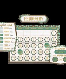 Eucalyptus Calendar Bulletin Board