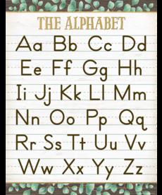 Eucalyptus Alphabet Chart
