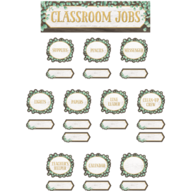 Eucalyptus Classroom Jobs Mini Bulletin Board