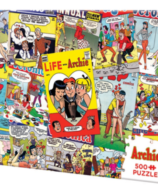 Cobble Hill Archie Covers Puzzle 500pc