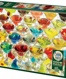 Cobble Hill Martinis Puzzle 1000pc
