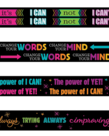 """Growth Mindset Pencils """"The Power of..."""""""