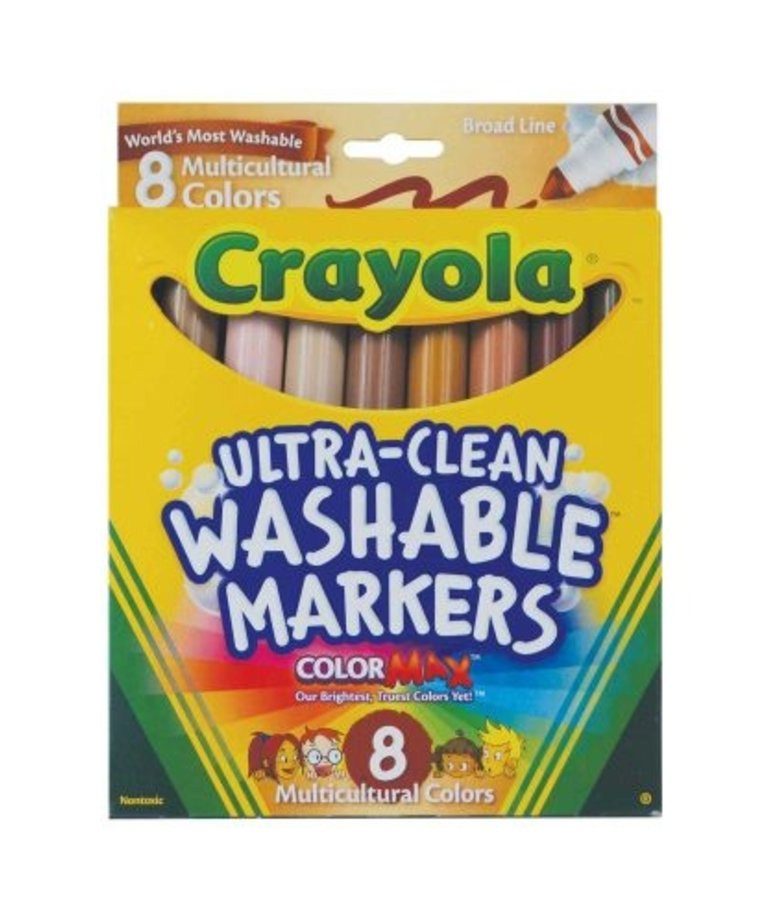 Crayola Multicultural Markers-8pk