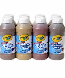 Crayola Multicultural Washable Paint Set- 8pk