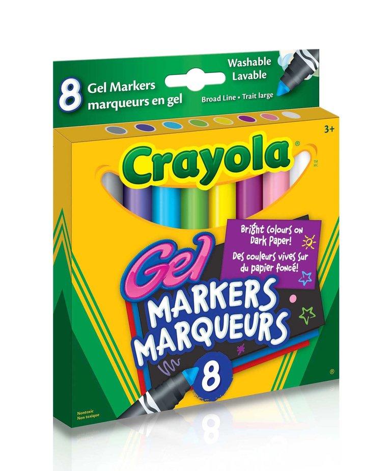 Crayola Gel Markers 8 Pack