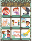 Eucalyptus Help Stop The Spread of Germs Chart