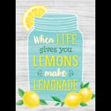 Lemon Zest When Life Gives You Lemons Positive Poster