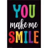You Make Me Smile Positive Poster
