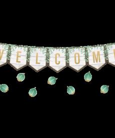 Eucalyptus Welcome Bulletin Board