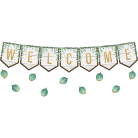 Eucalyptus Welcome Bulletin Board